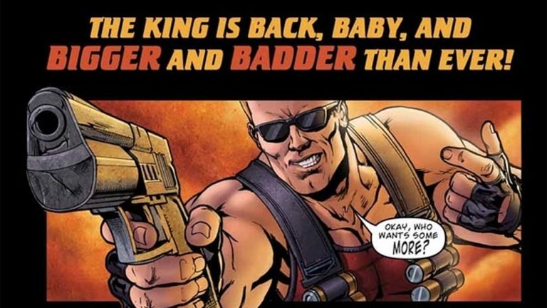 Duke Nukem comic coming from IDW
