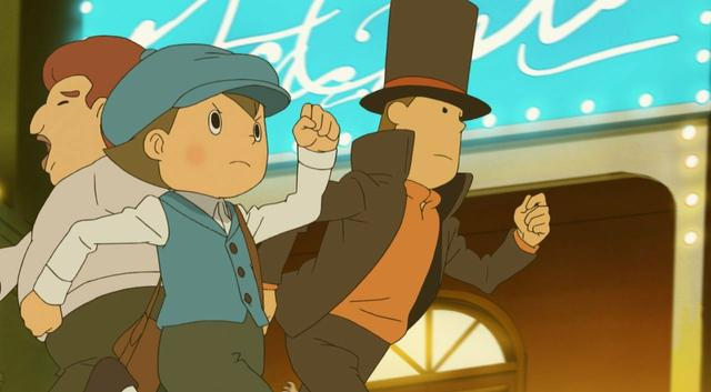 Professor Layton And The Miracle Mask Review