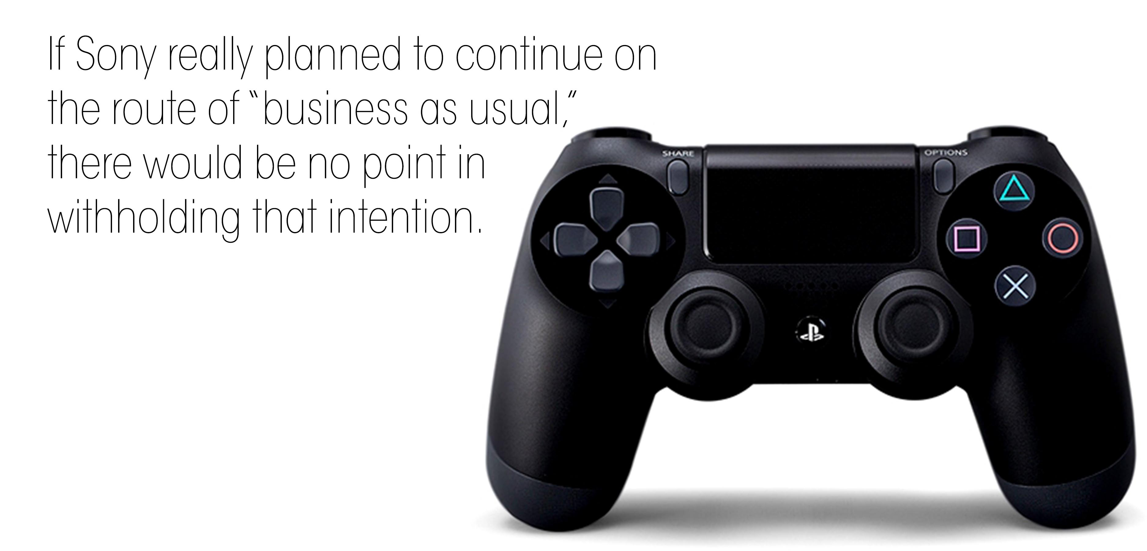 Will Sony Side With The Publishers Or With Us?
