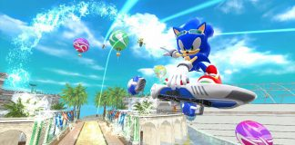 Sonic Free Riders (XBOX 360) Review 1