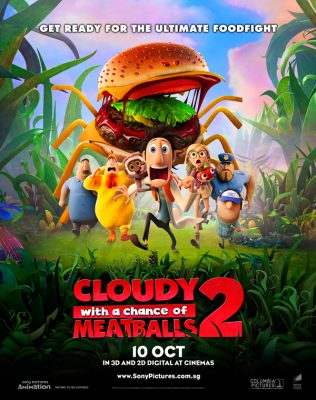 Cloudy With A Chance Of Meatballs 2 (Movie) Review