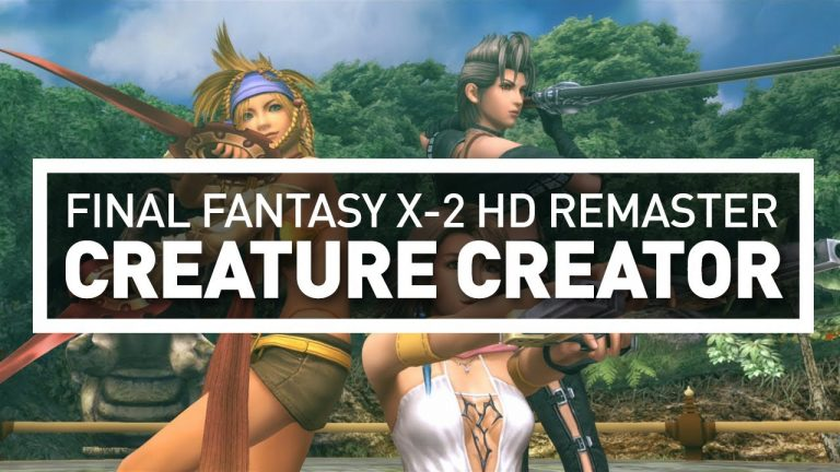 Final Fantasy X-2 HD Remaster: Creature Creator (First NA Look)