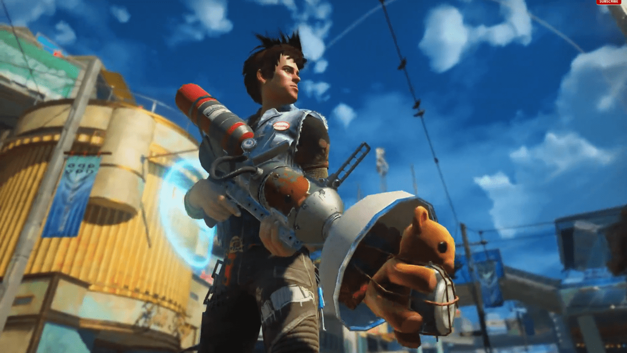 First Sunset Overdrive Gameplay Revealed