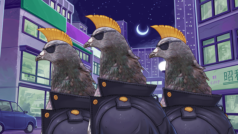Devolver Digital to Publish Pigeon Dating Sim - 2014-06-06 11:53:30