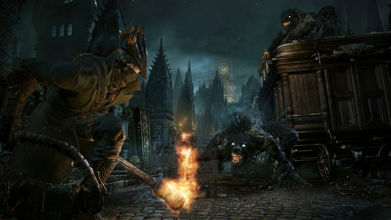 Bloodborne: Pre-rendered vs In-Game Footage