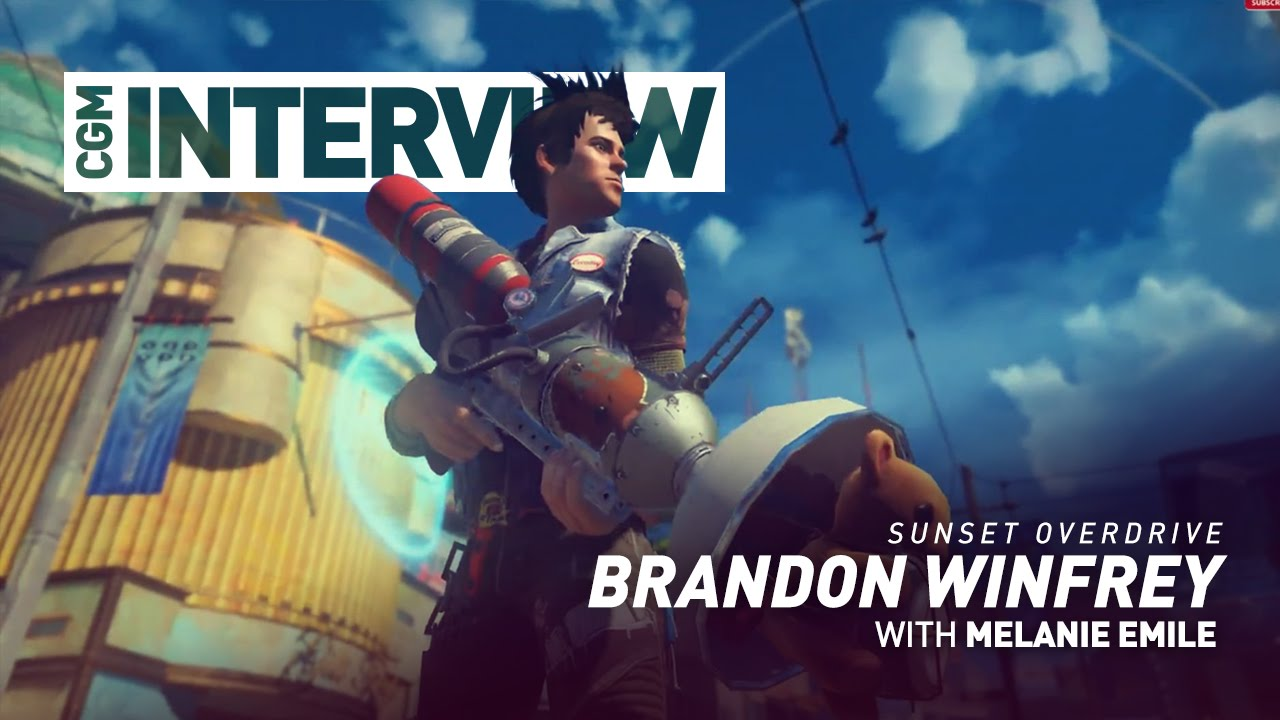CGM Interviews - Sunset Overdrive with Brandon Winfrey