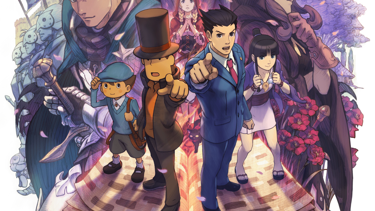 Professor Layton Vs Phoenix Wright Ace Attorney (3DS) Review 2