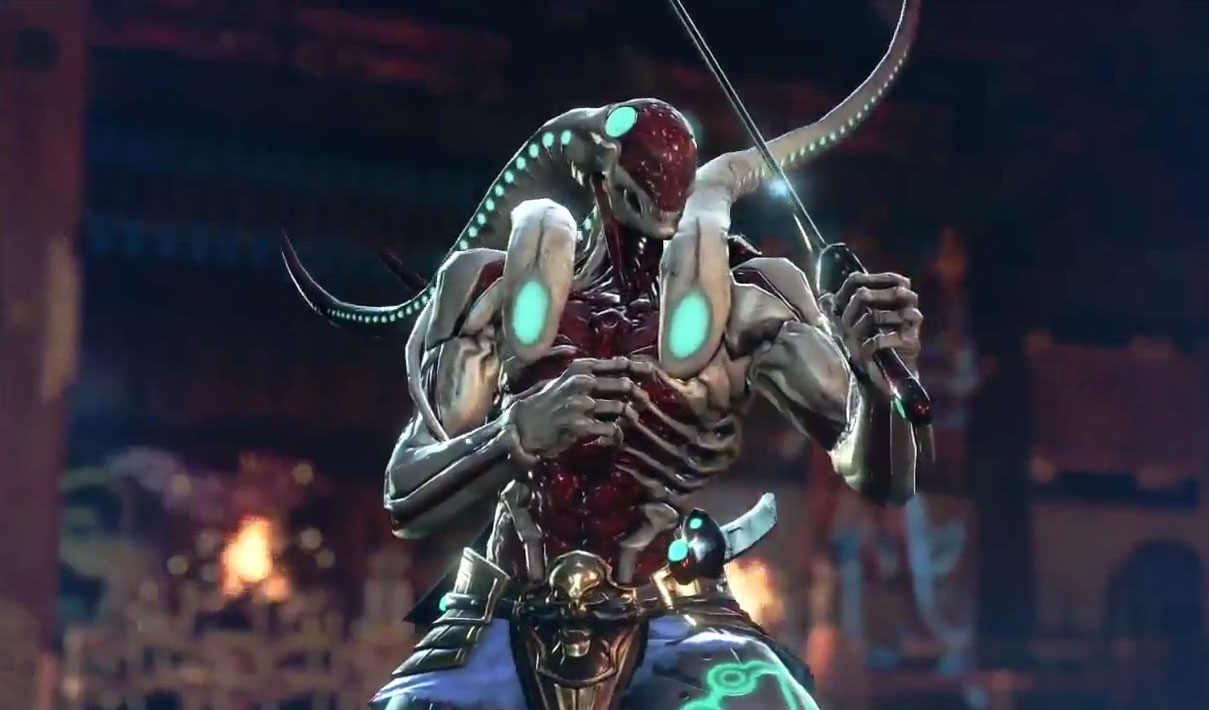 The Many Faces Of Yoshimitsu Cgmagazine