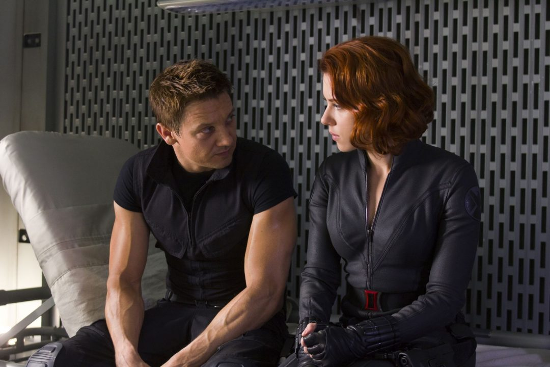 Hawkeye & Black Widow - Age of Ultron 2015