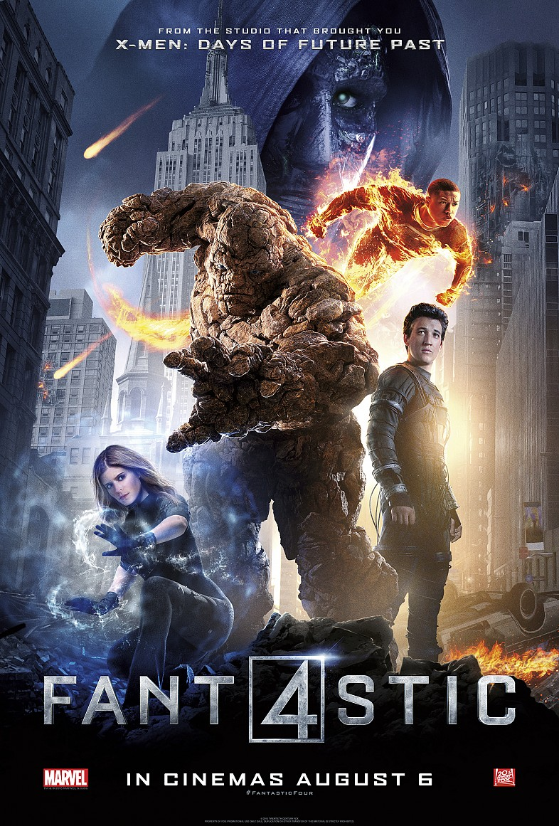 Fantastic Four (Movie) Review 1