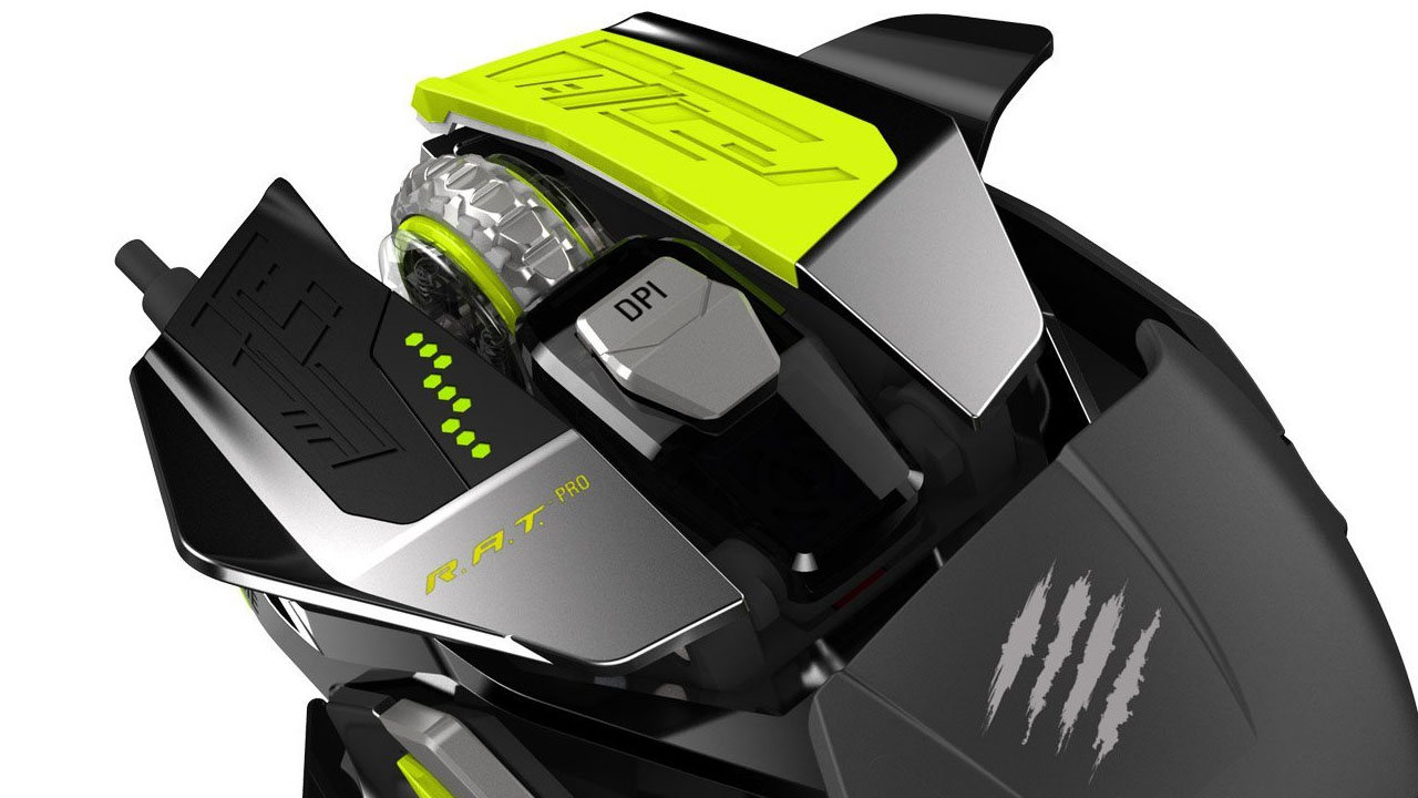 Mad Catz R.A.T. Pro X Gaming Mouse (Hardware) Review 4