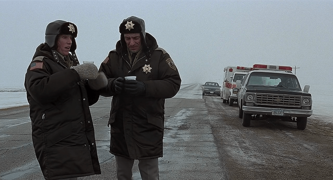 The Top Ten Winter Misery Genre Movies - Fargo (1996)
