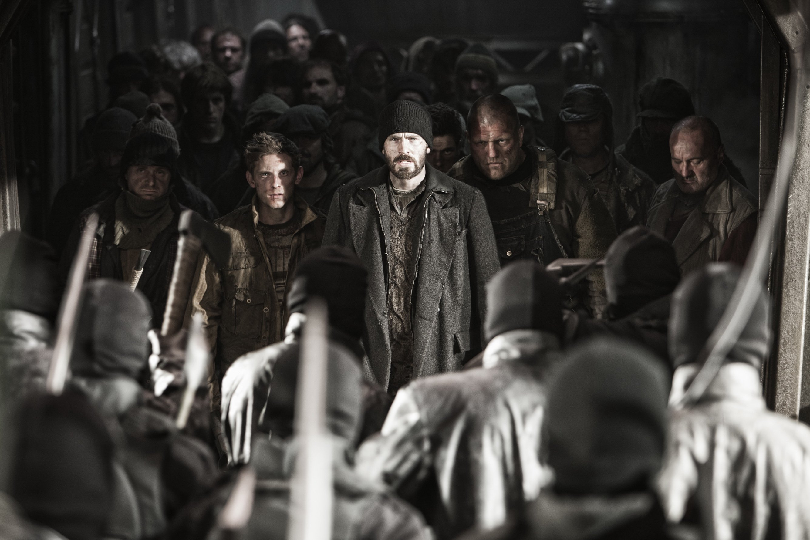 The Top Ten Winter Misery Genre Movies - Snowpiercer (2013)