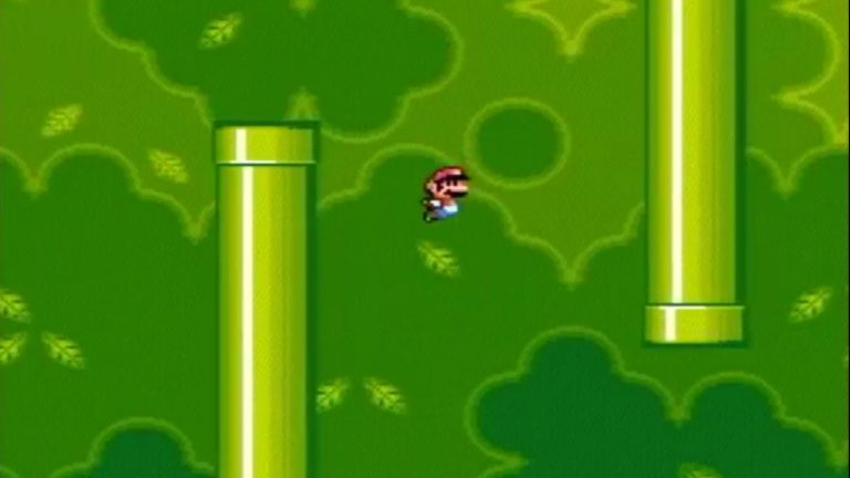 YouTuber Manually Creates Flappy Bird in Super Mario World
