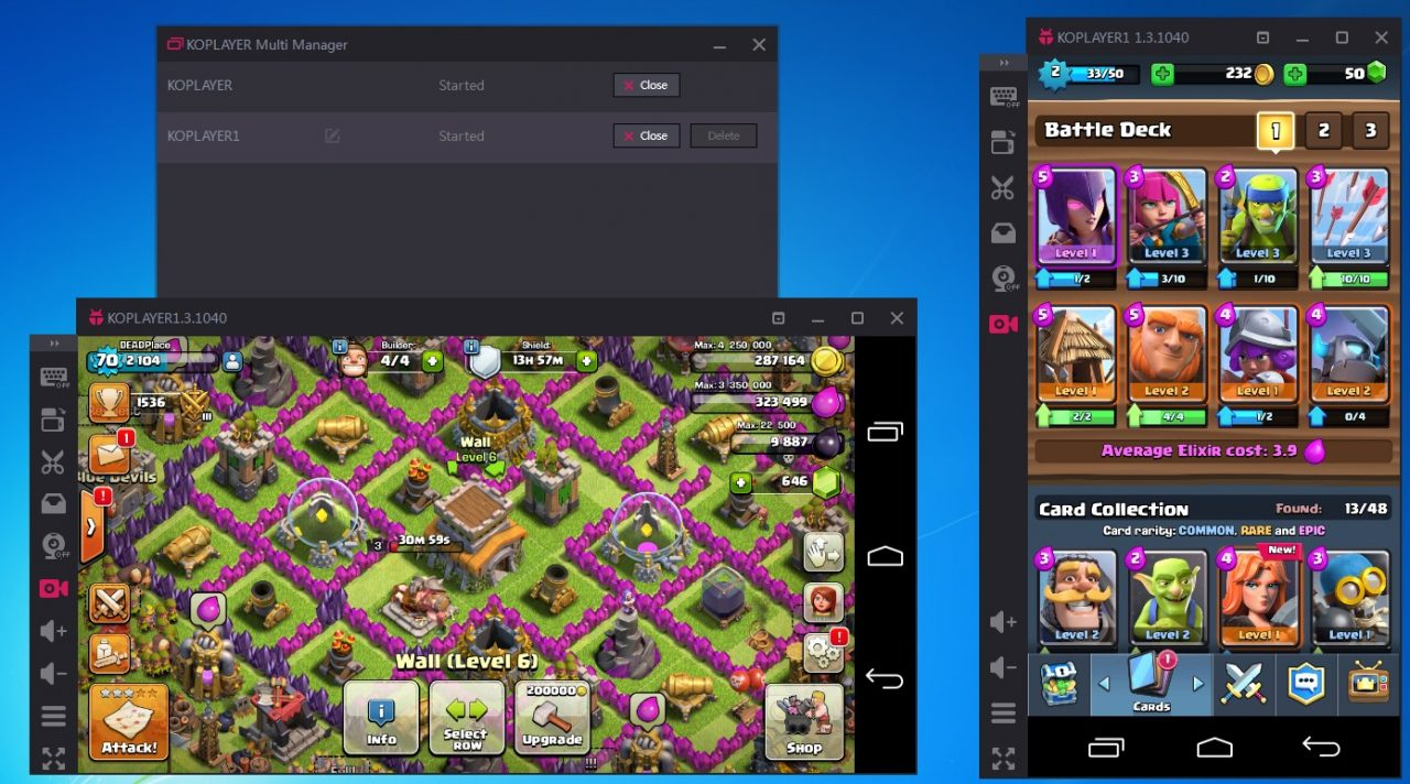 KOPLAYER emulates both mobile apps and games to your PC 1