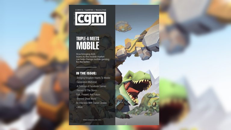 CGMagazine May 2016: Going Mobile