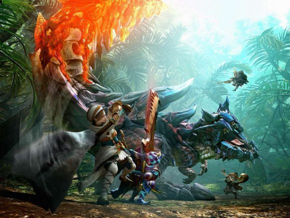 Monster Hunter crosses over with Ghosts 'n Goblins in new trailer