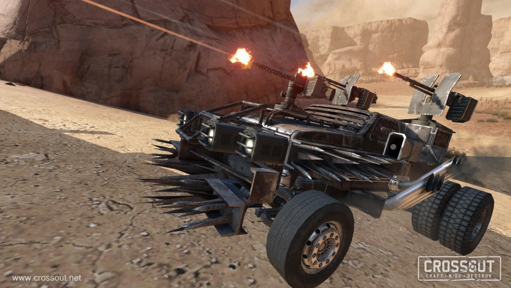 Targem's Crossout Rides Shiny and Chrome 2