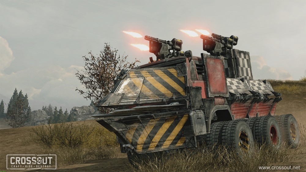 Targem's Crossout Rides Shiny and Chrome