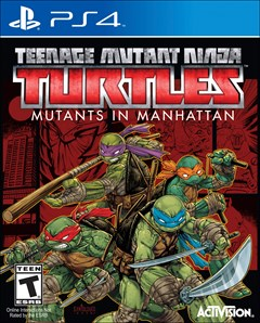 Teenage Mutant Ninja Turtles: Mutants in Manhattan (PS4) Review