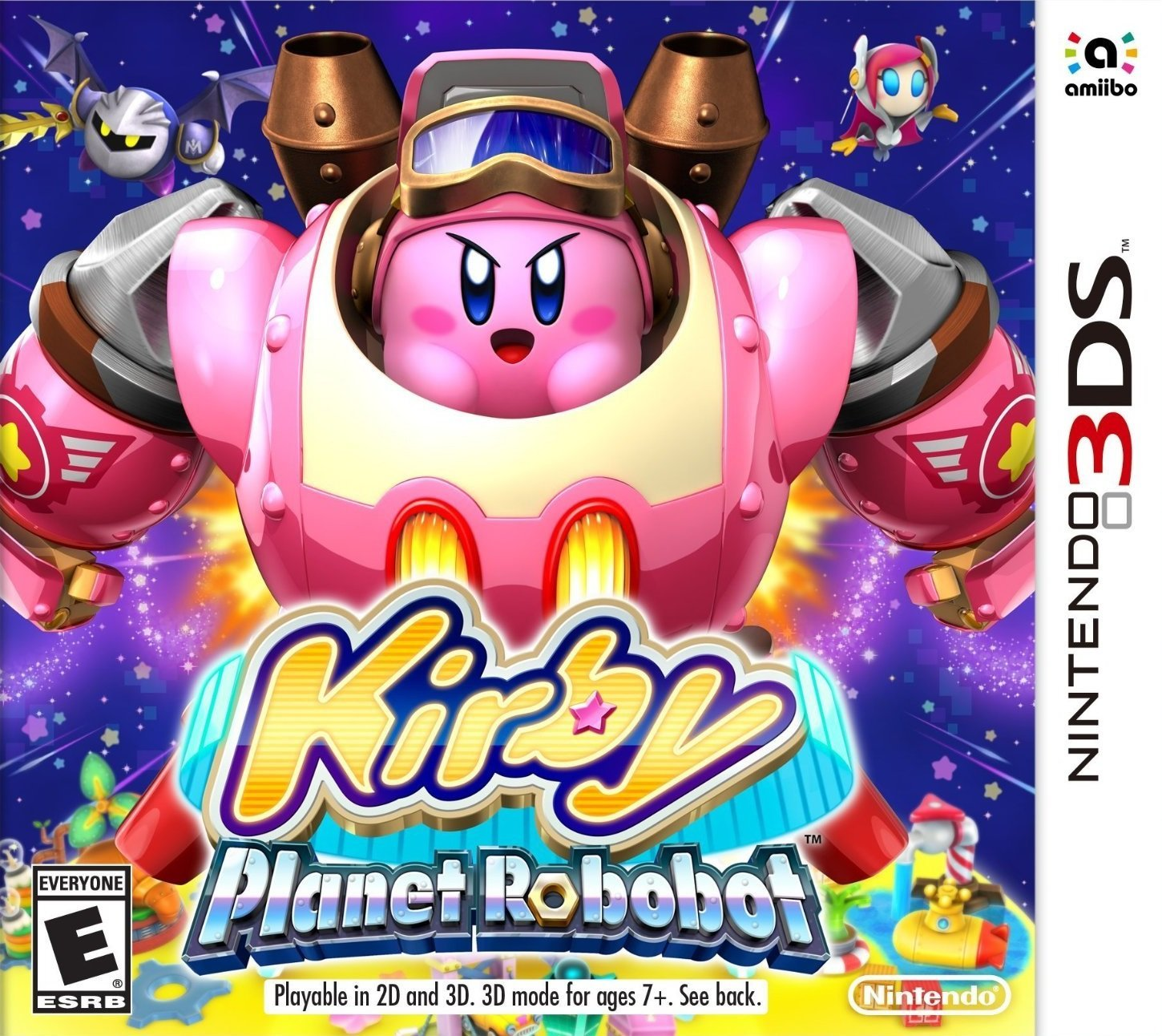 Kirby: Planet Robobot (3DS) Review