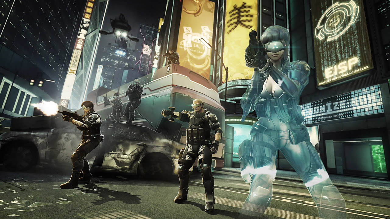 Ghost In The Shell: First Assault Online Enters Open Beta July 28
