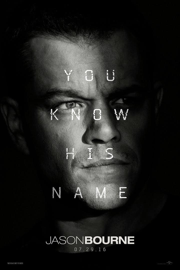 Jason Bourne (Movie) Review 1