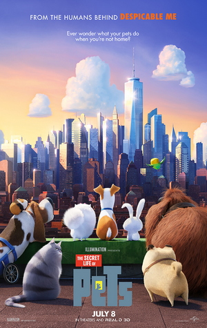 The Secret Life Of Pets (Movie) Review