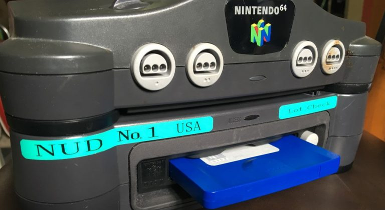 US Version of Nintendo 64DD Surfaces