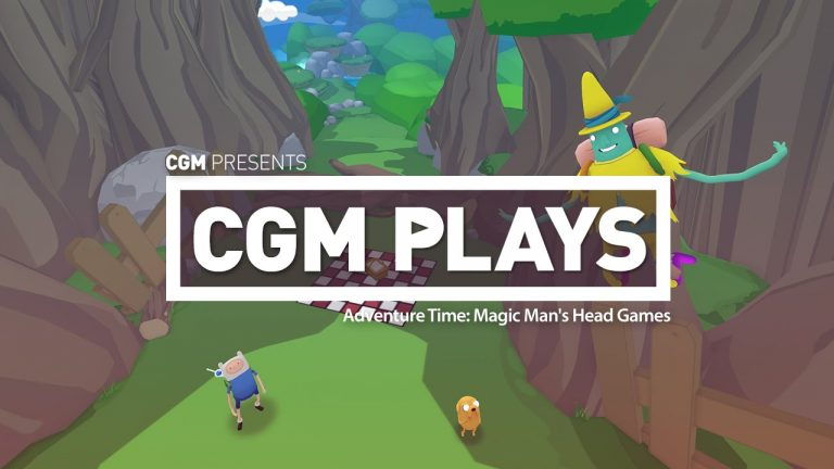 CGM Plays: Adventure Time – Magic Man's Head Games