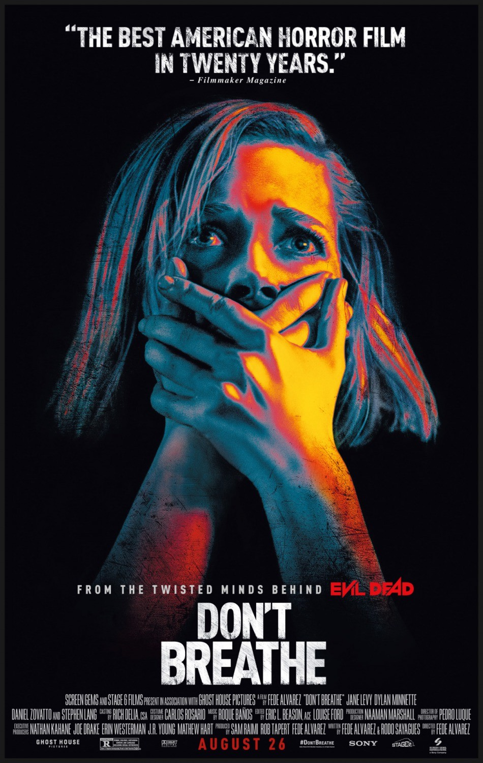 Don't Breathe (Movie) Review 1