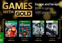October's Games with Gold Lineup is Disappointing