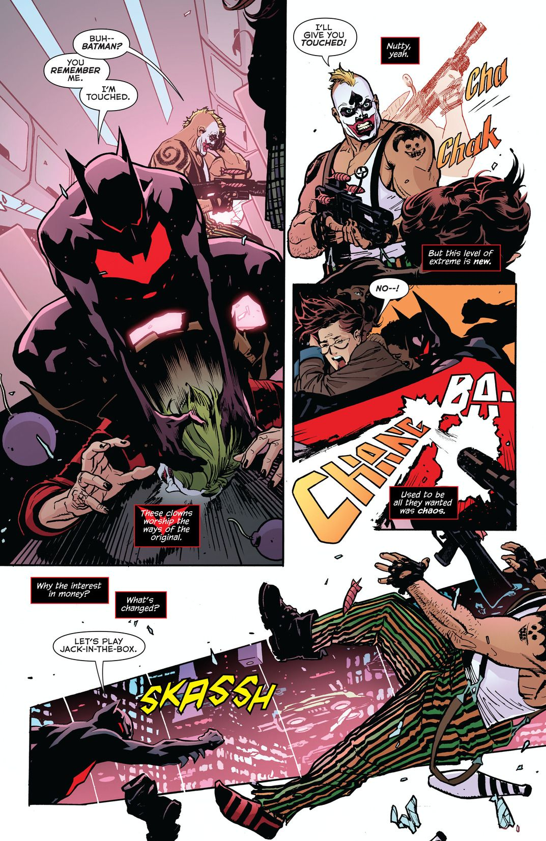 Batman Beyond Rebirth #1 (Comic) Review 1