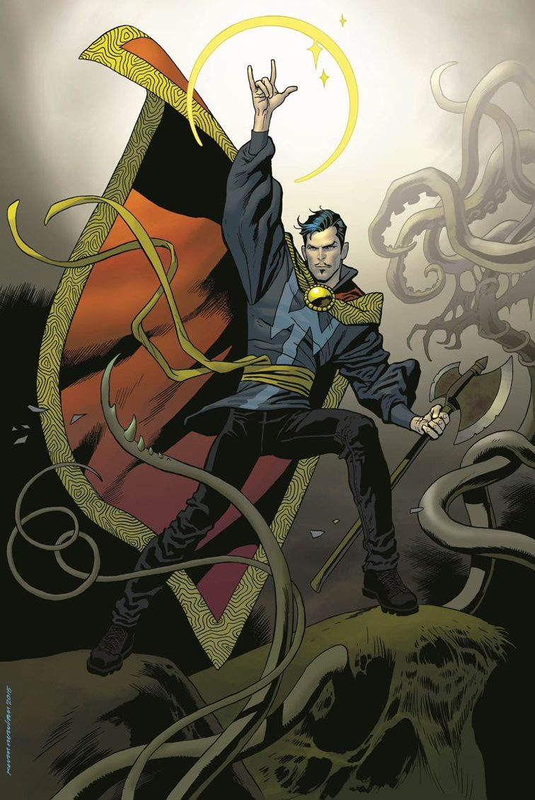 Doctor Strange: The Fate of Devin Grayson 5