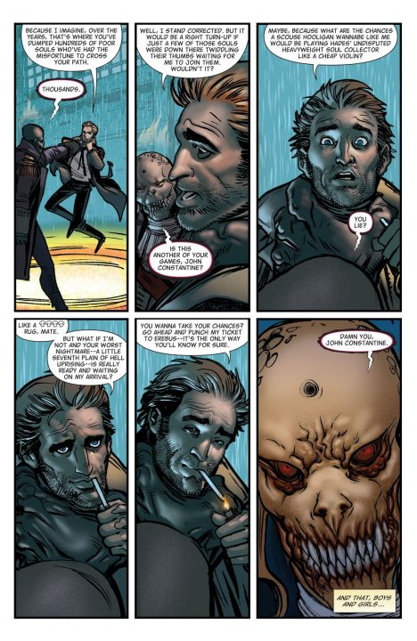 Hellblazer #1 (Comic) Review 1