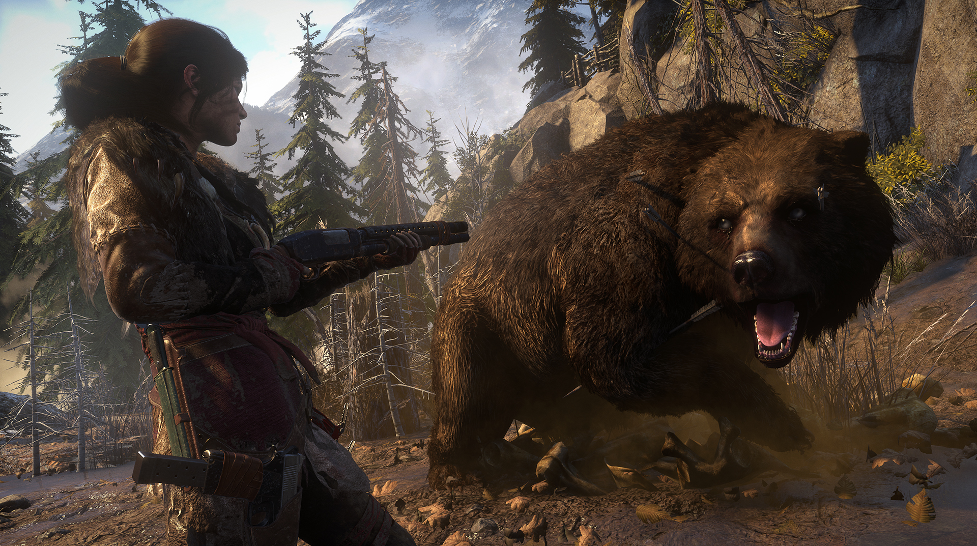 Rise Of The Tomb Raider 20 Year Celebration Ps4 Review Cgmagazine
