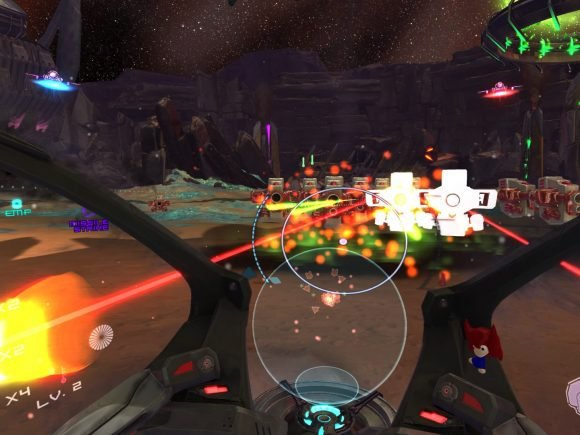 Super Stardust Ultra VR (PS4) Review 8