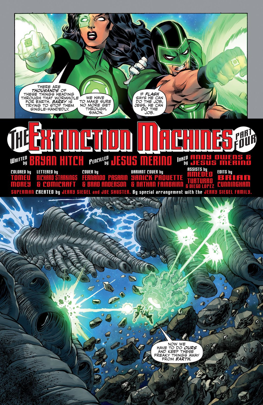 Justice League: The Extinction Machines (Comic) Review 4
