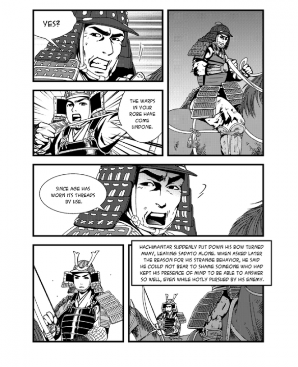 Bushido: The Soul of the Samurai (Graphic Novel) Review 2