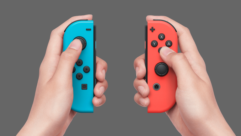 Joy-Con Controllers for Nintendo Switch Detailed