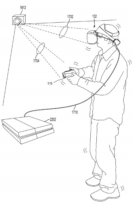 Sony Patents Vive like Tracking System for PSVR
