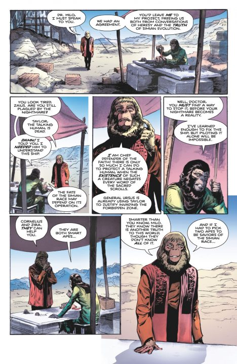 Tarzan on the Planet of the Apes Comic Review 1