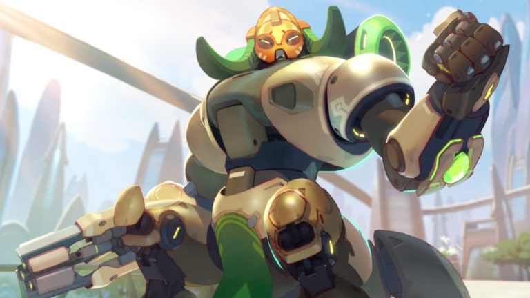 Overwatch Drops The Anchor With New Tank Orisa