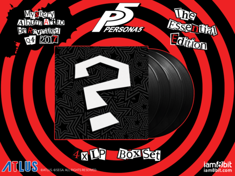 Atlus Announces Persona 5 Vinyl Soundtrack 1