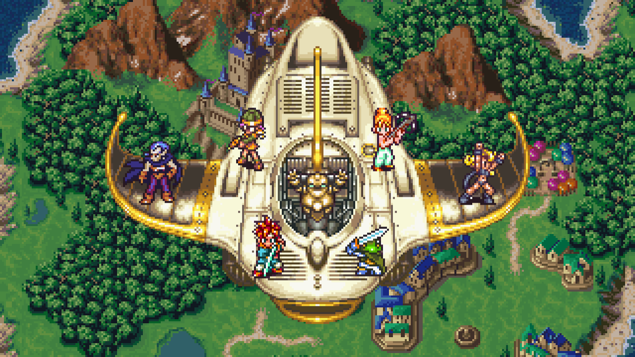 chrono trigger sprites - Ten Games We Want on a Possible SNES Classic