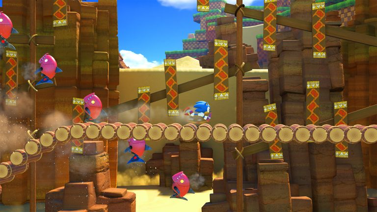 Sega Shows off Classic Sonic Gameplay in Sonic Forces