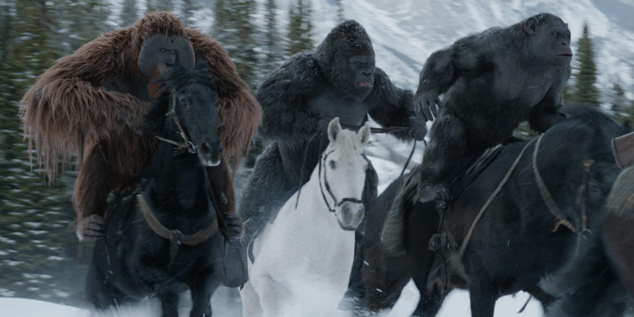 Karin Konoval Talks War for the Planet Planet of the Apes - Interview 5
