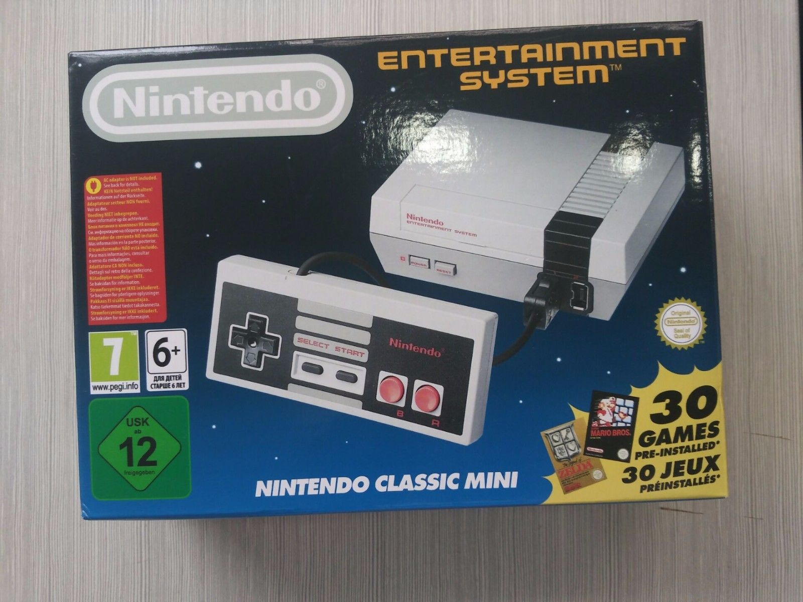 Alleged Nintendo NES Classic Knock-Off Spotted In The Wild