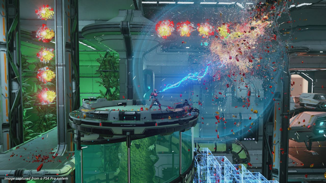 Matterfall (PlayStation 4) Review: Fluid, Frenetic, Explosive 4