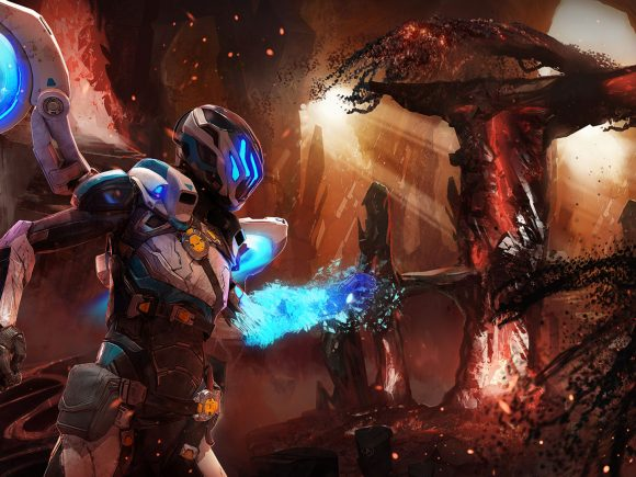 Matterfall (PlayStation 4) Review: Fluid, Frenetic, Explosive 7